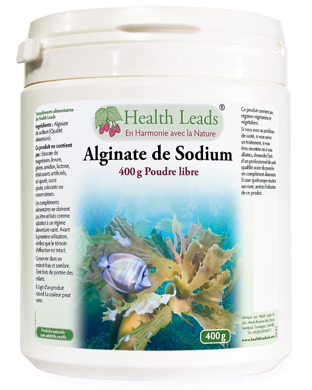 Alginato de sodio (calidad alimentaria) 400 g: Amazon.es: Salud y cuidado personal