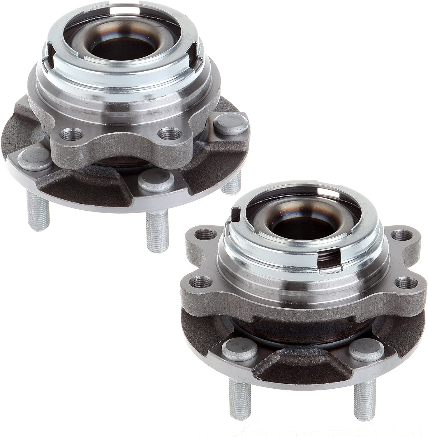 ECCPP 513294 New Brand Front Wheel Hub Bearing Assembly Replacement for Left Right Pair Set 2007 2008 2009 2010 2011 2012 2013 Nissan Altima 2.5L FWD (Driver or Passenger Side)