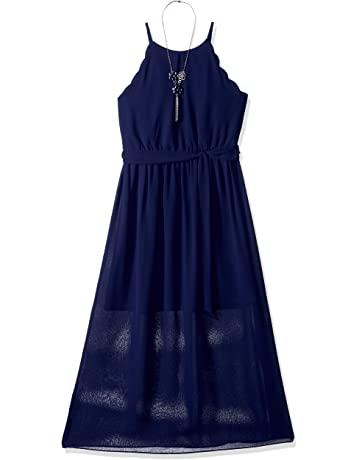 1db331cee7f9b1 Amy Byer Girls  Big Scalloped Maxi Dress
