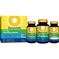 Renew Life 14-Day Total Body Cleanse, 3-Part Program, 140 Capsules