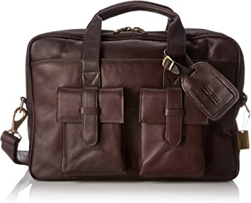 One Size 157 Claire Chase Platinum Briefcase Saddle