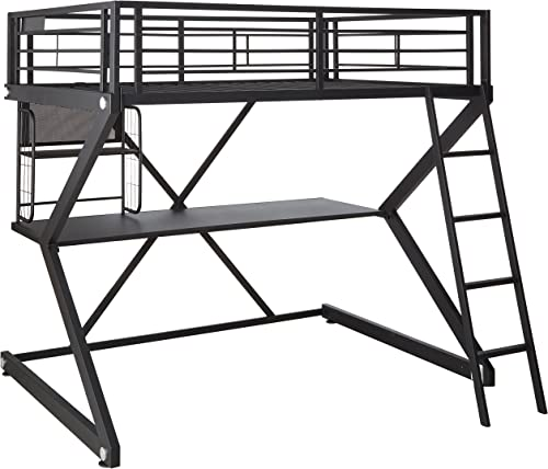 Parkview Full Workstation Loft Bed Black