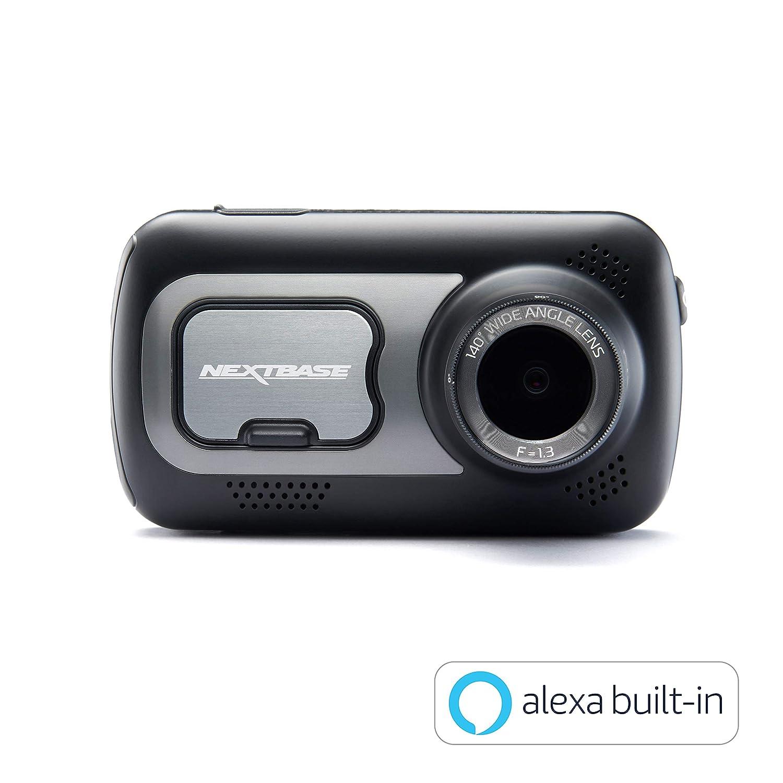 kit de c/âblage Carte SD 64 Go et /étui Inclus Nextbase 522GW Cam/éra embarqu/ée Full HD 1080p avec Support