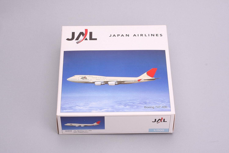 Herpa Wings 1/_500 504058 JAL Japan Airlines Boeing 747-400 JA8088