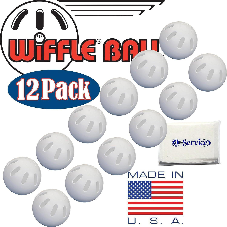 12 Official Wiffle Balls Baseballs