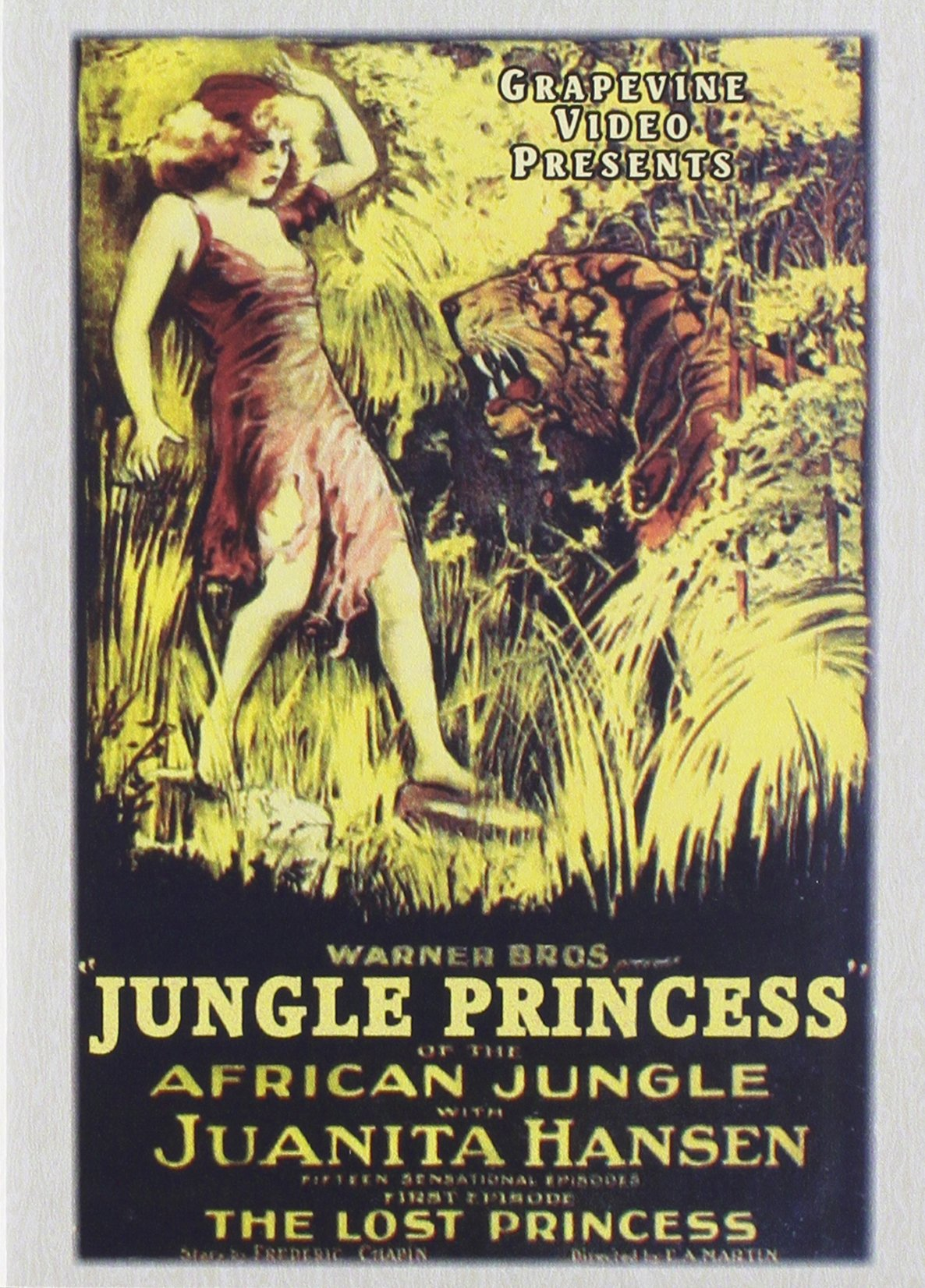 Jungle Princess (Black & White, Silent Movie)