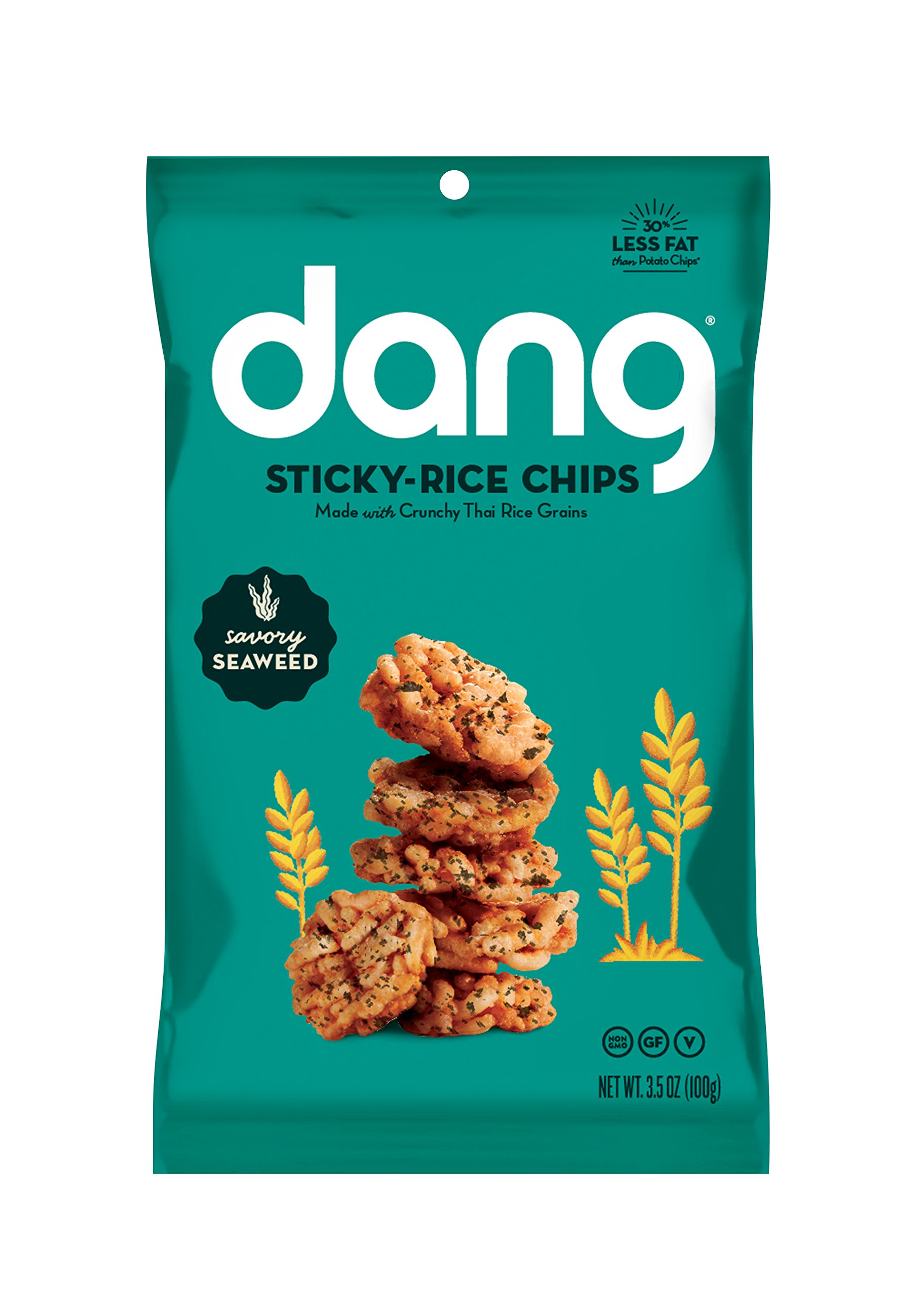 Dang Sticky Rice Chips, Aged Cheddar, 4 Count: Amazon.com: Grocery ...