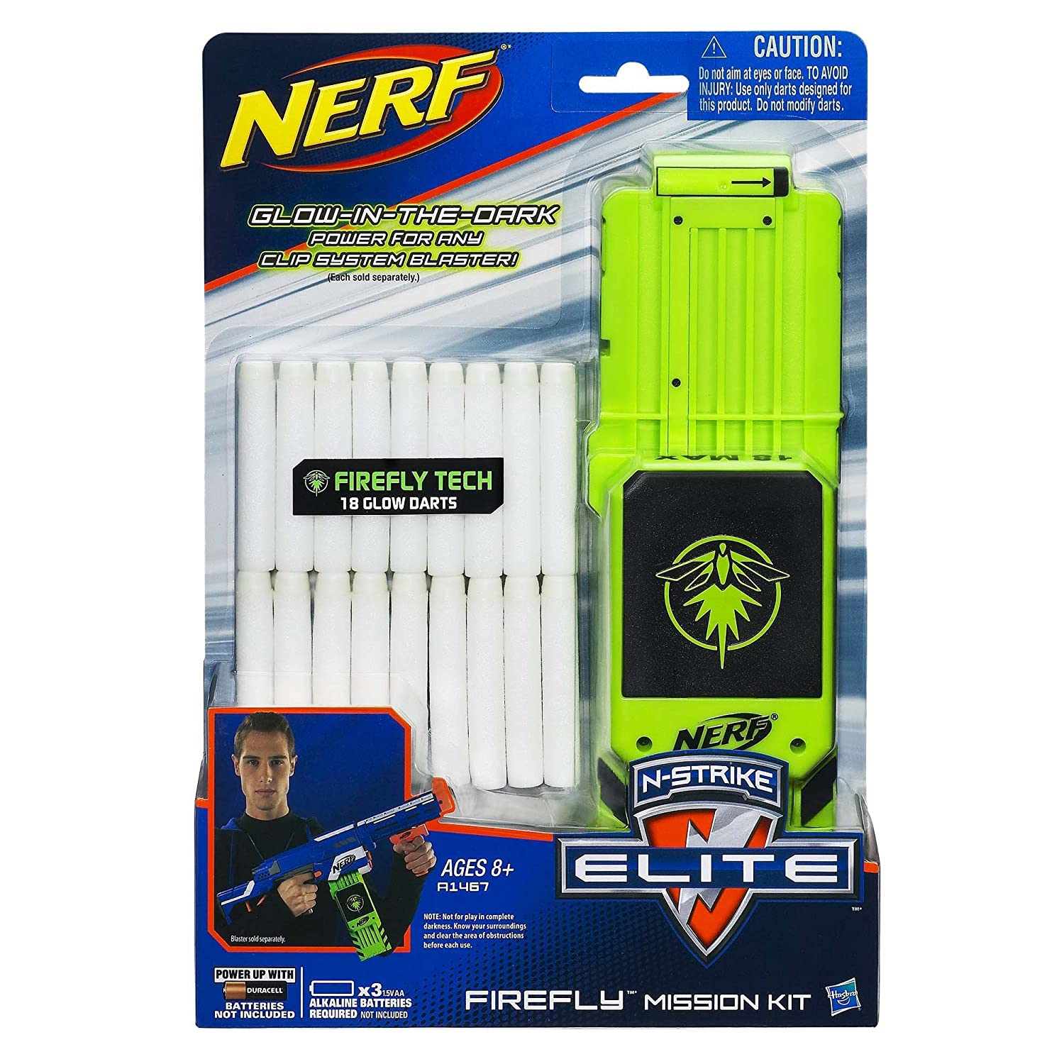 Amazon ficial Nerf N Strike Elite Series Firefly Mission Kit Pack Toys & Games