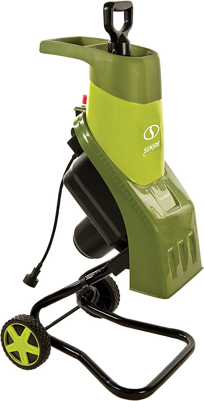 Snow Joe CJ601E Electric Wood Chipper/Shredder – Best Electric Leaf Shredder