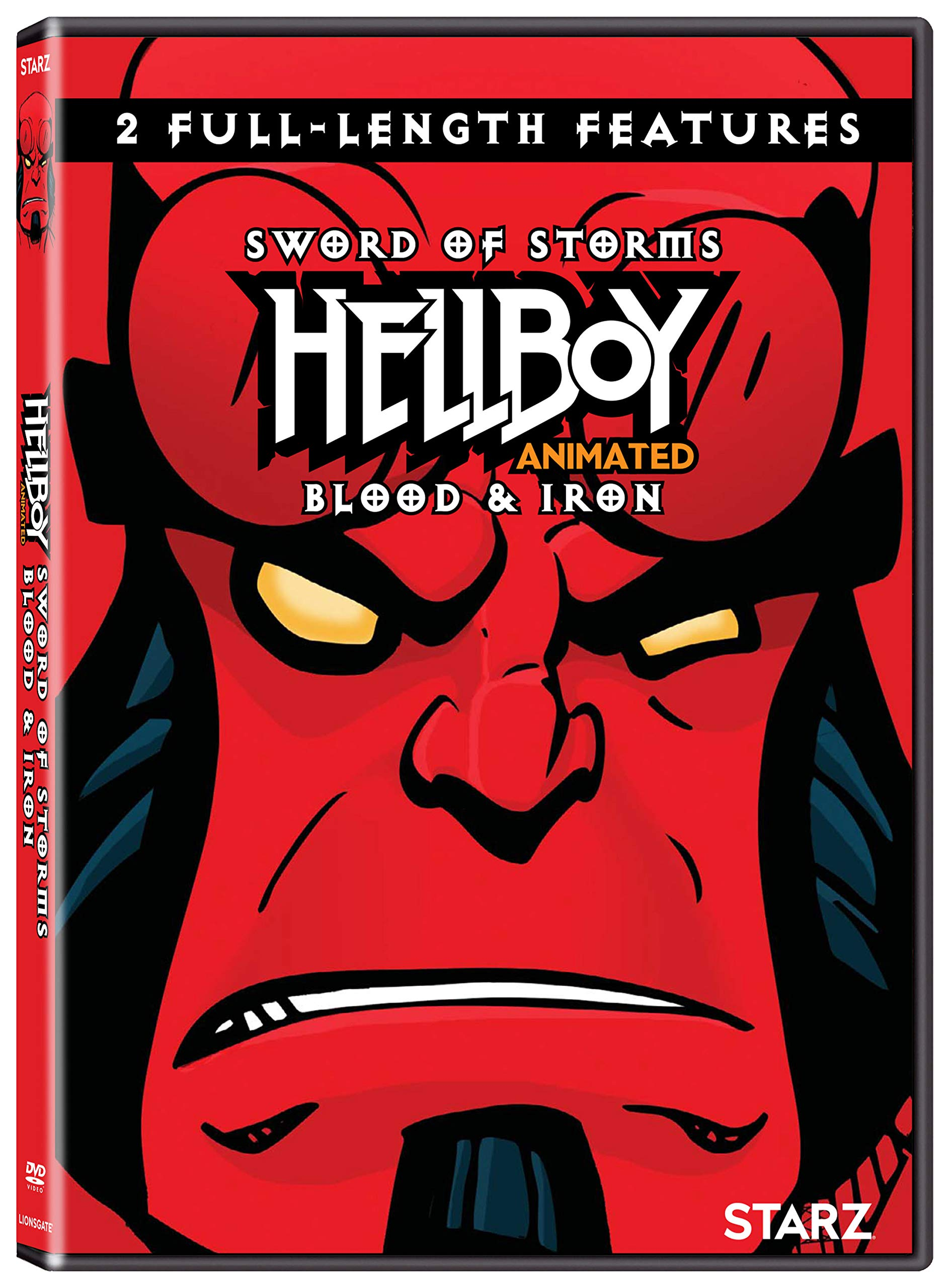 DVD : Hellboy Animated (Widescreen, 2 Pack, Dolby, AC-3)