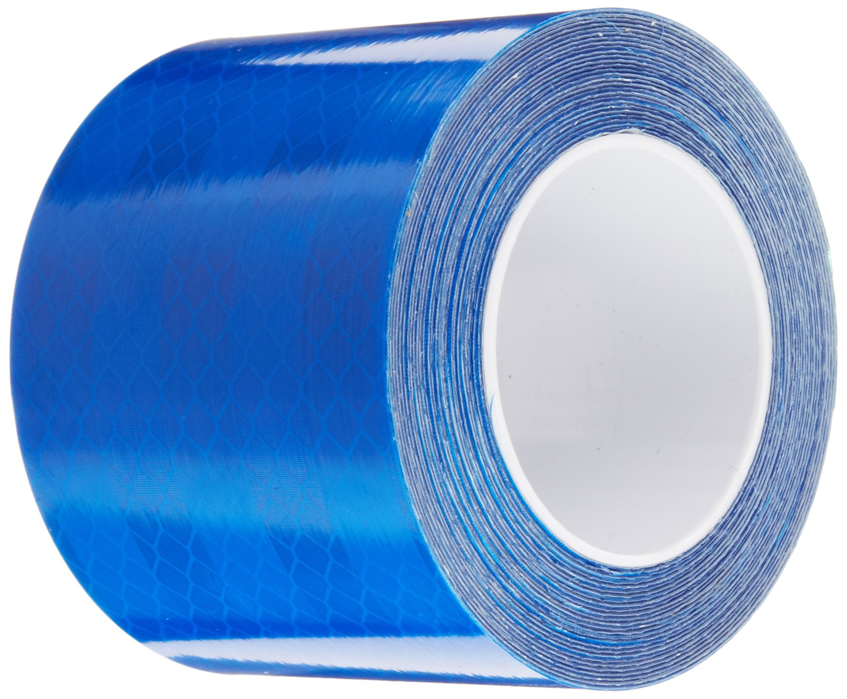3M 3435 Blue Micro Prismatic Sheeting Reflective Tape, 2'' x 5 yd (1 Roll)