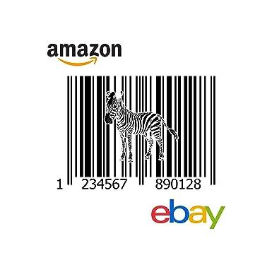 1000 unidades. Códigos De Barras EAN-13 para Amazon, iTunes y