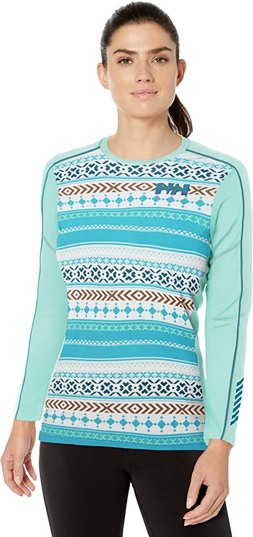Helly Hansen W HH LIFA Active Graphic Crew Sudadera, Mujer