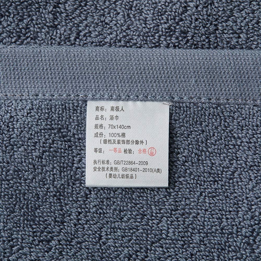 ZXL Asciugamano da Bagno 100% Torsione Zero Asciugamano da Bagno Modello Mese Elegante foglio-55 da 27,5 Pollici Pesante e Assorbente, Rosa Dicembre Bluedecember