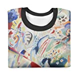 Kandinsky Abstract Art Painting Kids Sweatshirt - 7 Unisex
