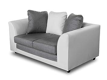 Sofá Grand de 2 plazas con cojín, sofá de 2 plazas, Conjunto ...