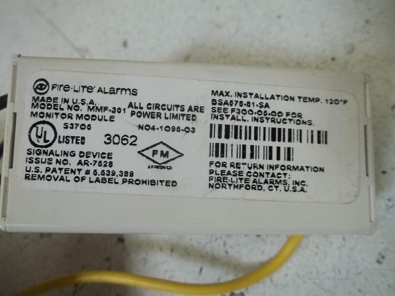 Amazon.com: Fire Lite Alarmas mmf-301 mini-monitor Moudle ...