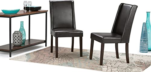 Simpli Home Sotherby Contemporary Deluxe Dining Chair Set of 2