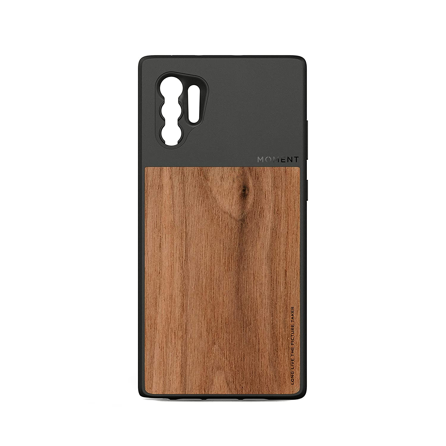 Funda Moment Para Galaxy Note 10 Plus (walnut Wood)