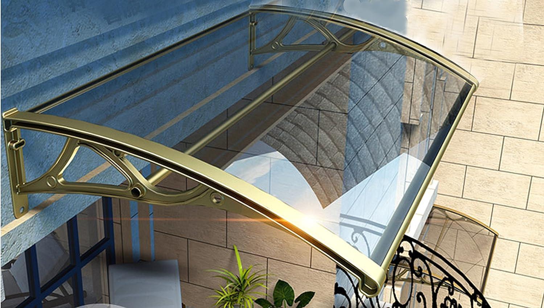 Aeon hum 屋根 テラス アルミ 雨よけ 梅雨対策 自転車置き場 連接可能 (60x壁側100) B07C9RFBGW 10859 60x壁側100  60x壁側100