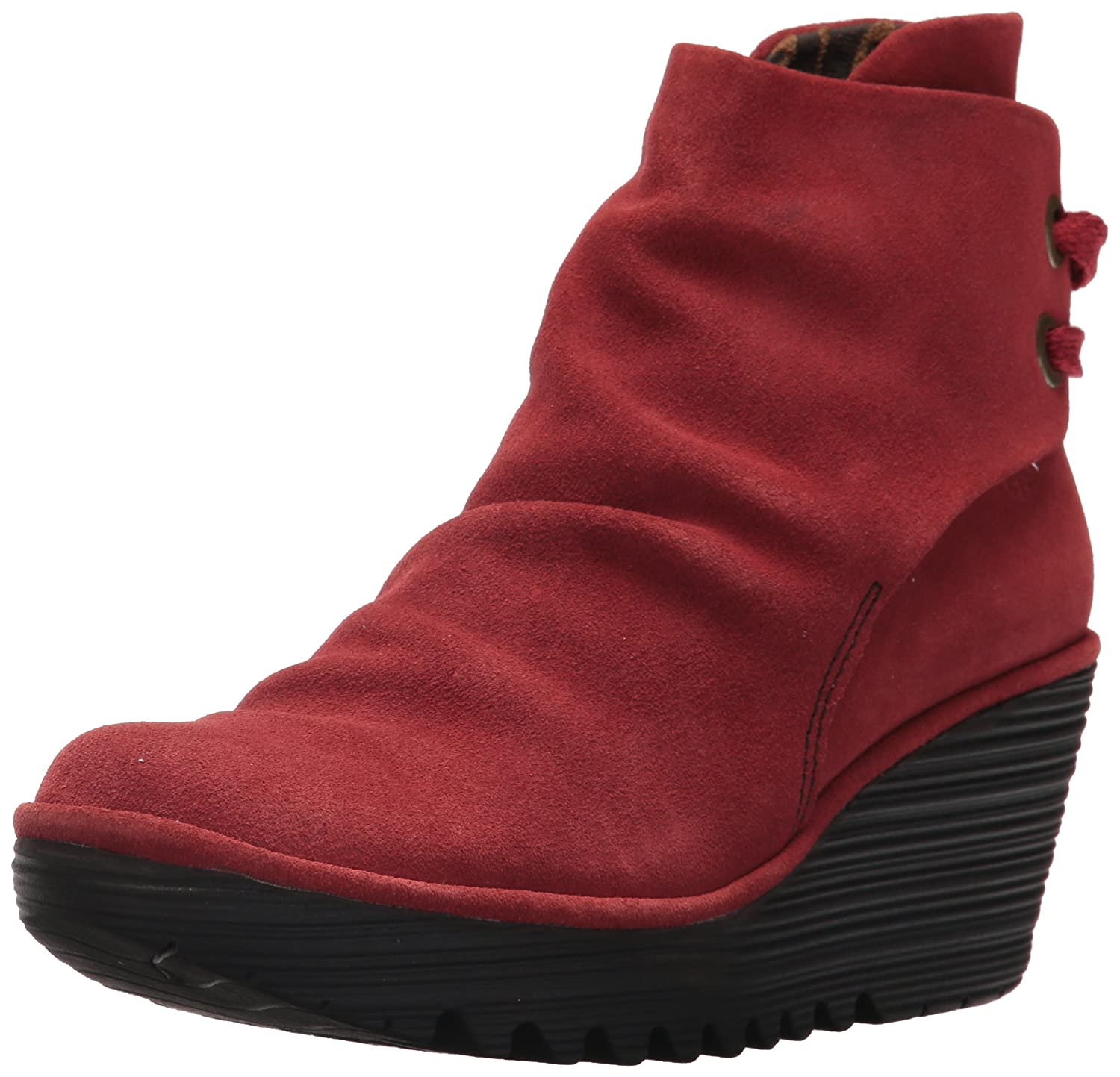 Fly 021) London 17448 Yama, Rouge Bottes Classiques Femme Rouge (Red 021) 8c296f3 - latesttechnology.space