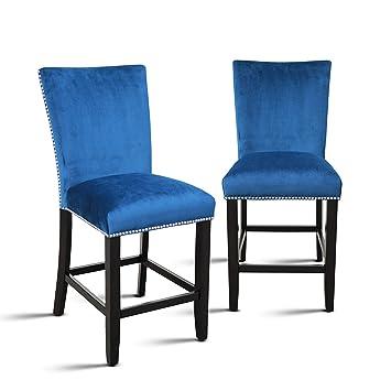 Amazon.com: Steve CM540CCBN - Juego de 2 sillones de ...