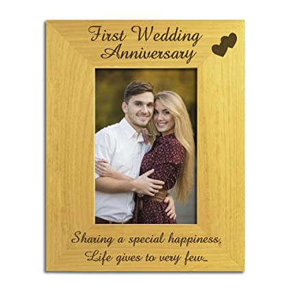 Personalised Wedding Anniversary Silver Plated Double Photo Frame