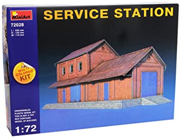 MiniArt - Maqueta de Edificio, 1:72 (MA72028): Amazon.es ...