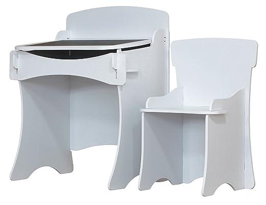 Kidsaw kinder bureau et chaise blanc kdw pour noël