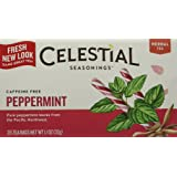 Celestial Seasonings, Tea, Peppermint, 20 ct