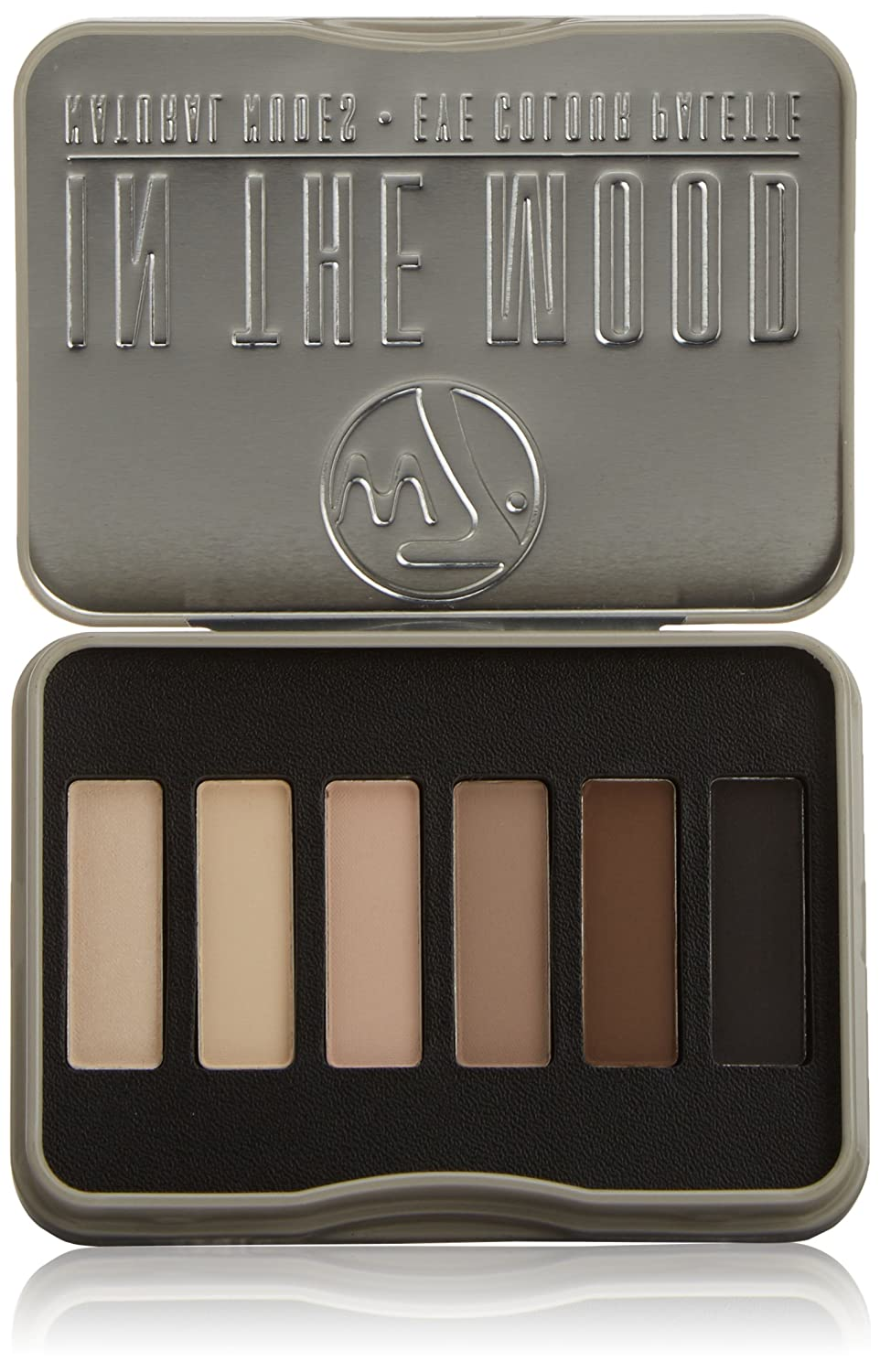 W7 Natural Nudes Eye Colour Palette 7 g, In The Mood - 6-Piece 5060406140347