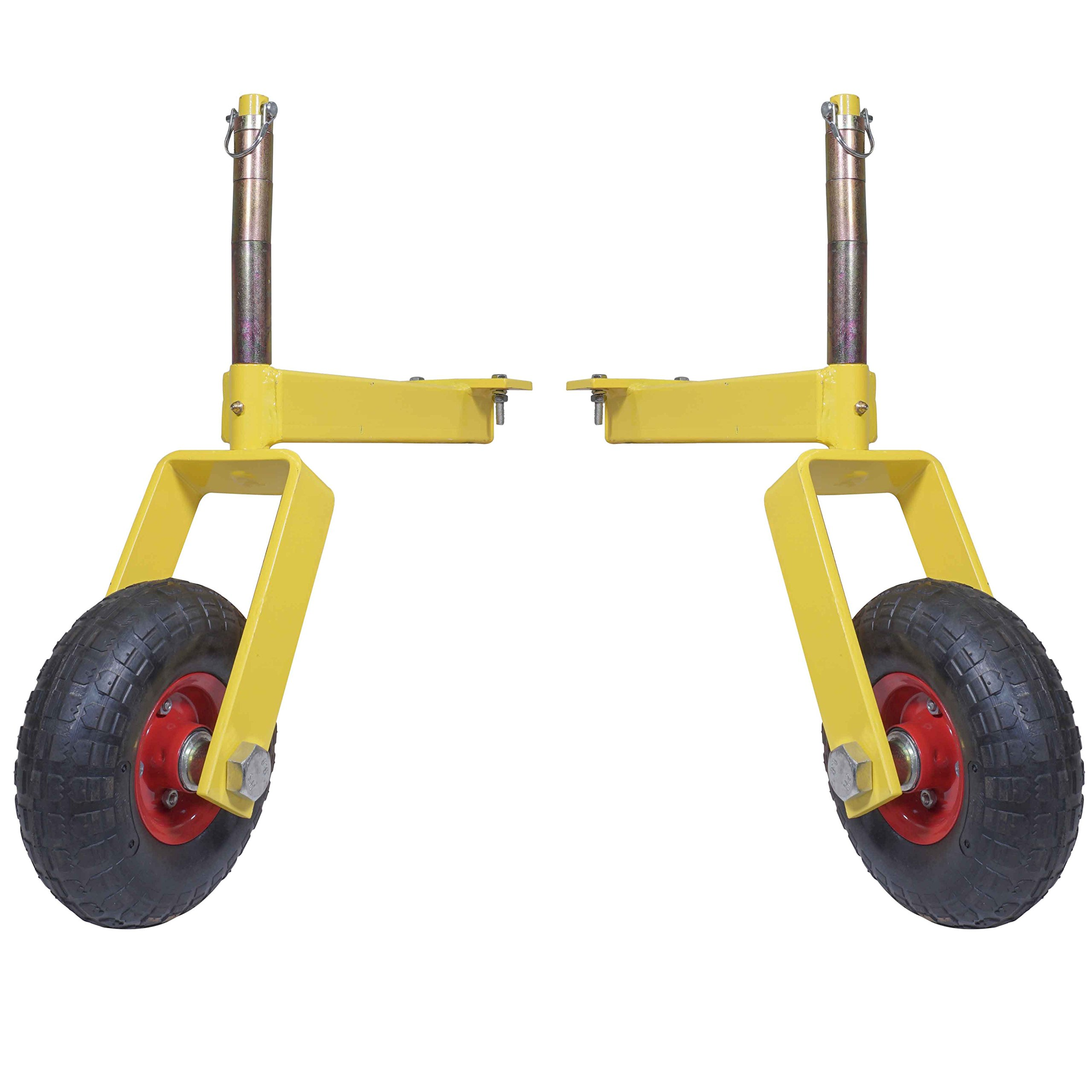 Pair of Titan Landscape Rake Wheel Attachments Adjustable Height by Titan Attachments (Image #1)