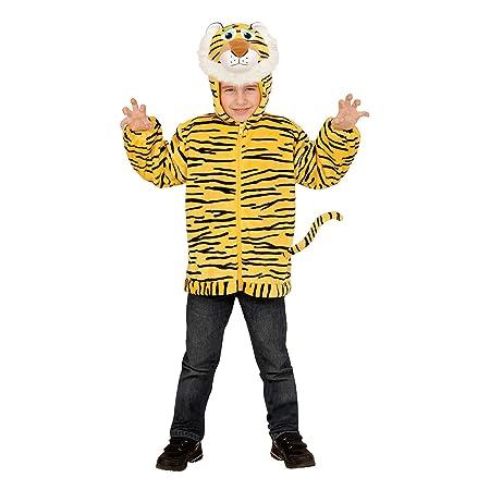 Widmann - Kinderkostüm Tiger aus Plüsch