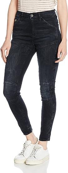 TALLA 25W / 32L. G-STAR RAW 5620 Elwood Ultra High Waist Super Skinny Jeans para Mujer