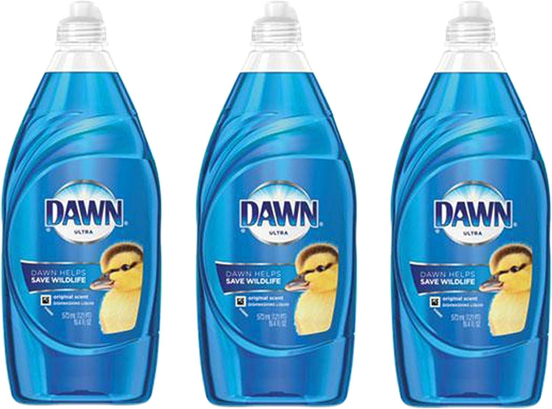 Dawn Ultra 97305 19.4 Oz. Dawn Ultra Dishwashing Liquid Dish Soap Original Scent
