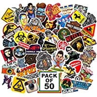 Junkyard Vinyl Stickers for Electronic Gadgets, Scrapbook, car n Bikes (Pack of 50)