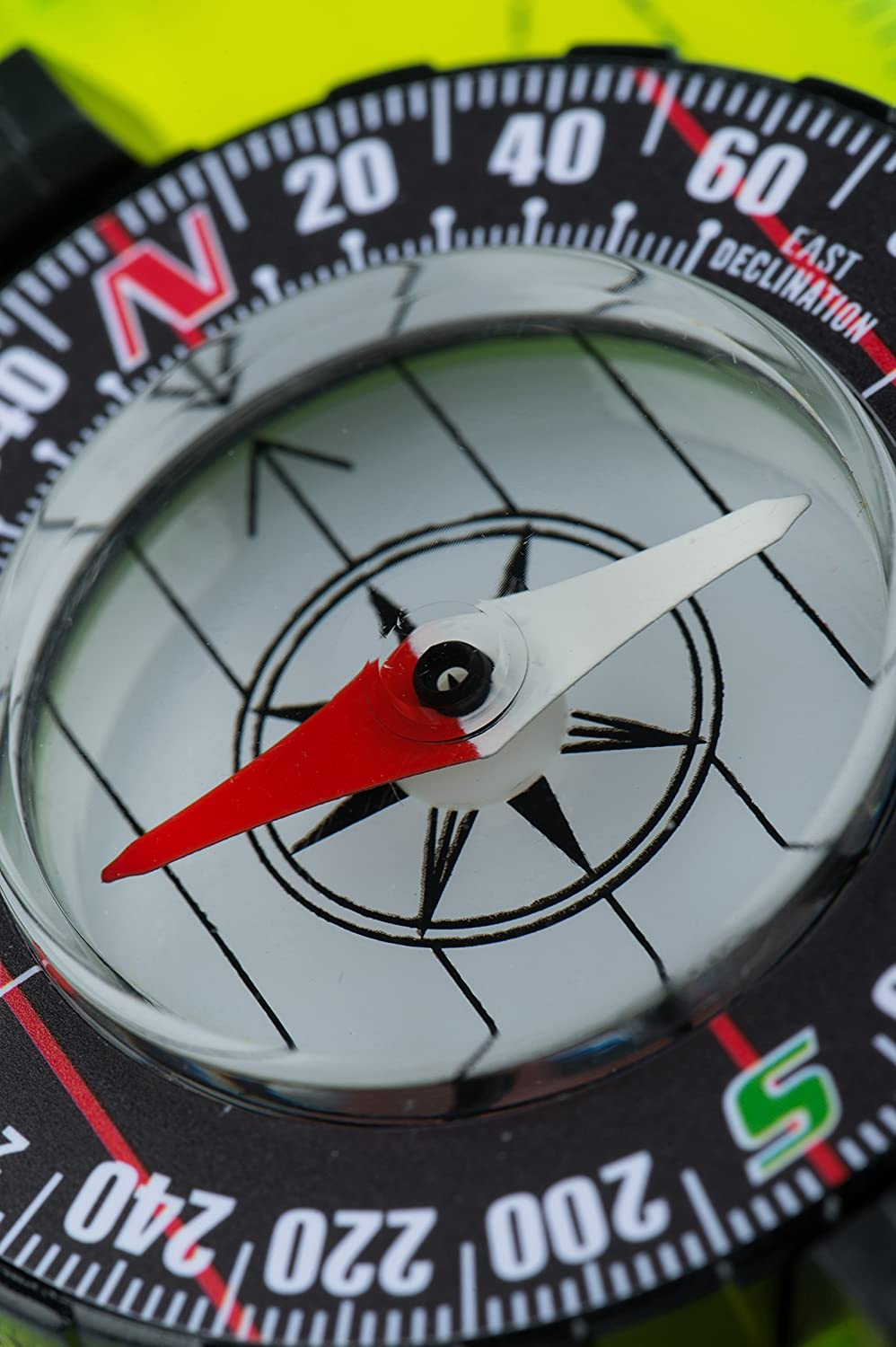 AceCamp Mirror Compass Outdoor Premium Portable Map Compass Navigation Tools for Camping Hiking