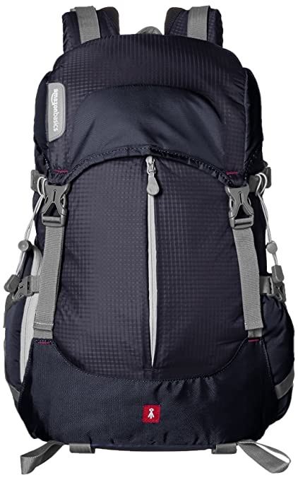 2c77fabcccb Amazon.com   AmazonBasics Hiker Camera and Laptop Backpack - Black   Camera    Photo