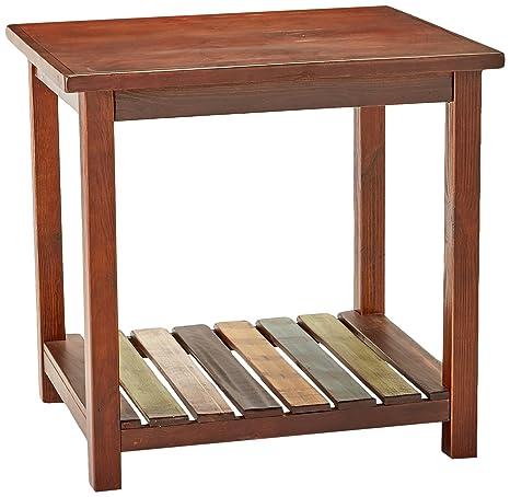 Amazoncom Ashley Furniture Signature Design Mestler Chairside