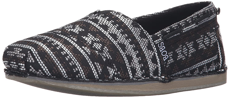 b7f3485e6b Amazon.com | BOBS from Skechers Women's Chill Slip-On Flat | Flats