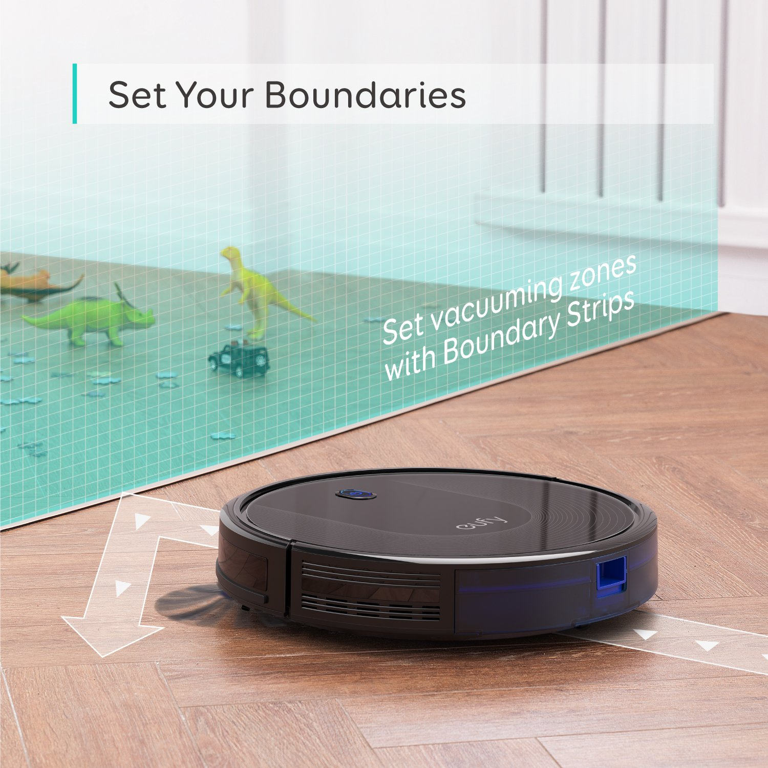 Amazon.com: eufy BoostIQ RoboVac 30, superfino, fuerza de ...