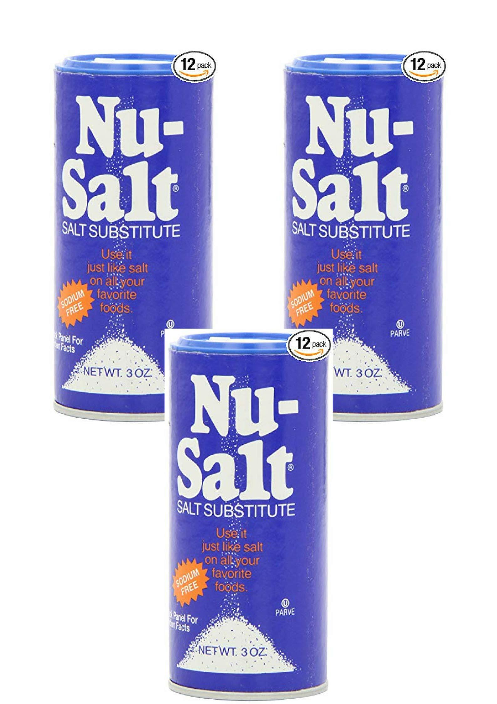 Nu-Salt, 3-Ounce Shaker (36 Pack)