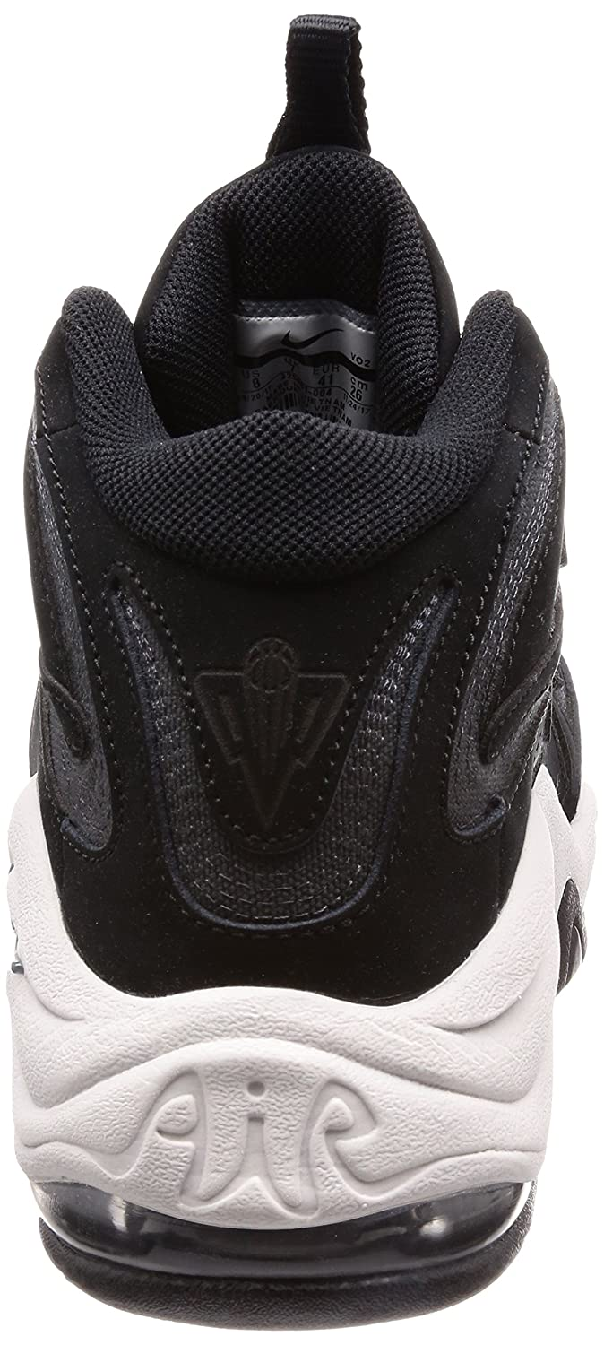 Nike Men's Air Pippen Shoes In Black and White Leather 325001-004:  Amazon.co.uk: Shoes & Bags