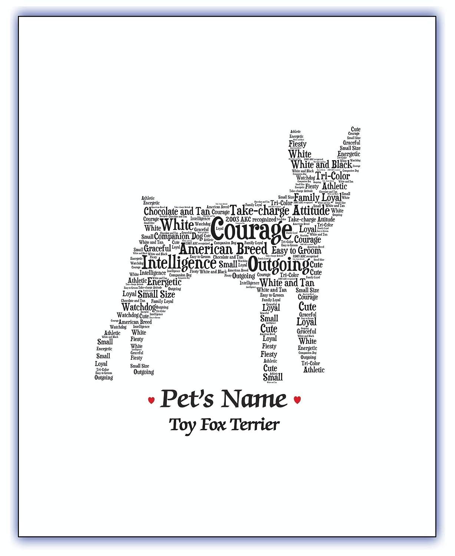 Fox Terrier Dog Wall Or Door Sign For Fox Terrier Lovers