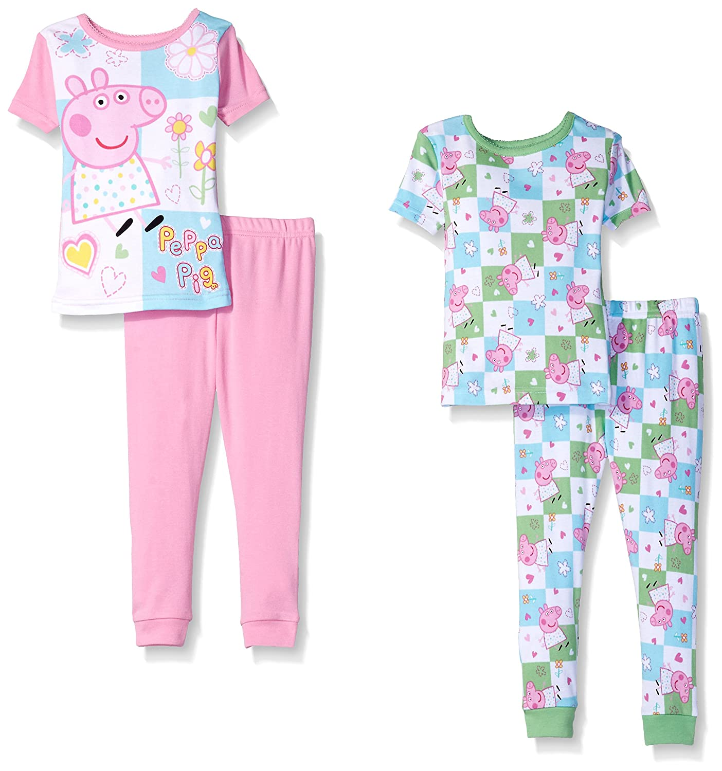 Peppa Pig Girls Toddler Girls 4 Piece Cotton Set K182277PP