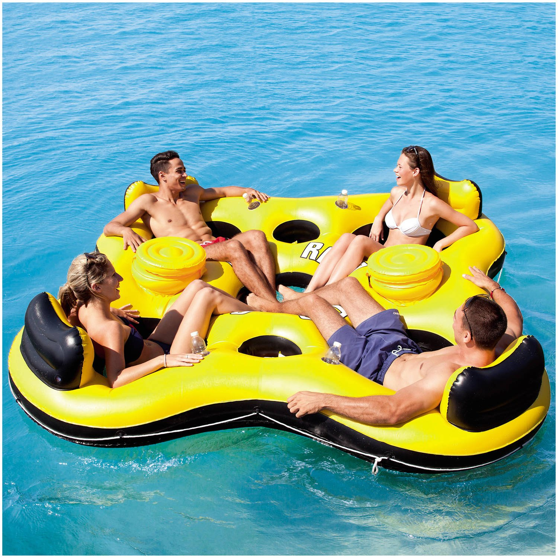 Amazon.com: Bestway inflable Rapid Rider x4 isla piscina, el ...