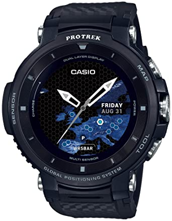 d1d2213de1 [カシオ]CASIO スマートアウトドアウォッチ プロトレックスマート GPS搭載 WSD-F30-