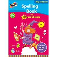 Galt GAL3142D Play and Learn Spelling Book with Reward Stickers
