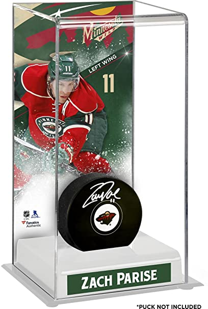 Amazon.com : Sports Memorabilia Zach Parise Minnesota Wild ...