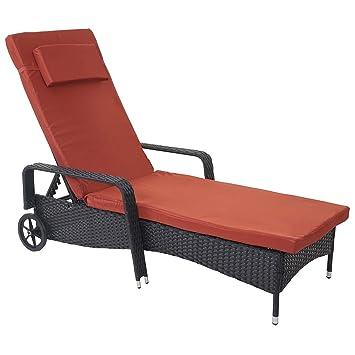 SoleilCouchetteAlu De Chaise CarraraPolyrotinBain Longue Chaise WdxeCorB